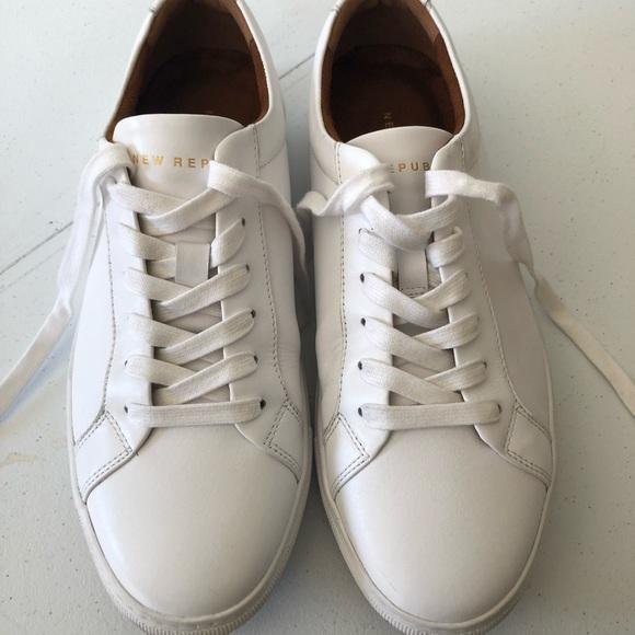 Kurt Leather Sneaker By New Republic